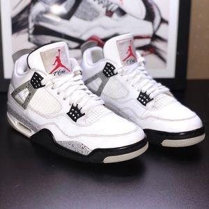Jordan retro 4 White cement OG 2016